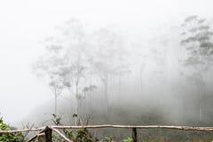 Annebbia sulle colline occidentali di Ghat Immagine Stock Libera da Diritti