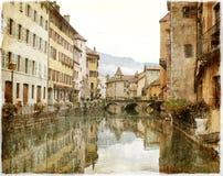 Annecy, Γαλλία, Ευρώπη Στοκ Εικόνες