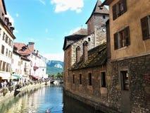 Annecy, οι Άλπεις, Γαλλία στοκ φωτογραφίες