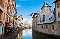 Annecy στη Γαλλία Στοκ φωτογραφία με δικαίωμα ελεύθερης χρήσης