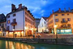 ANNECY, στις 18 Απριλίου 2017 - η αρχιτεκτονική του Annecy, κάλεσε τη Βενετία των Άλπεων Γαλλία, Ευρώπη Στοκ εικόνα με δικαίωμα ελεύθερης χρήσης