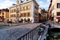 Annecy το πρωί Στοκ φωτογραφία με δικαίωμα ελεύθερης χρήσης