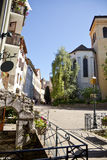 Annecy. French old sity Annecy in Haute Savoie in alps Royalty Free Stock Photo