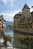Annecy. City of france located in haute-savoie alps near frequently visited by tourists Royalty Free Stock Photo