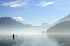 Λίμνη του Annecy στη Γαλλία Στοκ φωτογραφία με δικαίωμα ελεύθερης χρήσης