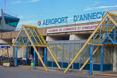 Annecy Airport Royalty Free Stock Photo