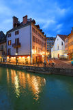 ANNECY, APRIL 18, 2017 - Architecture of Annecy , called the  Venice of the Alps, France, Europe Royalty Free Stock Image