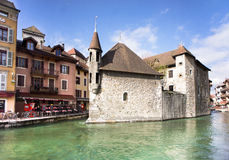 Annecy - Canal City in Eastern France Royalty Free Stock Image
