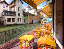Annecy - Canal City in Eastern France Royalty Free Stock Photos