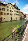 Annecy - Canal City in Eastern France Royalty Free Stock Photography