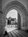 Annecy Castle, ή πύργος δ ` Annecy στην πόλη του Annecy, Γαλλία Στοκ εικόνα με δικαίωμα ελεύθερης χρήσης