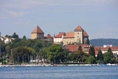 Annecy Castle, France Royalty Free Stock Photography