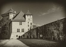 Annecy castle, France Stock Images