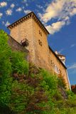 The Annecy Castle particular of the tower Royalty Free Stock Photos