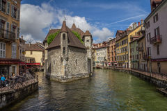 Annecy. City France Alps River Royalty Free Stock Photo