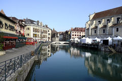Annecy city in Savoy, France Royalty Free Stock Photography