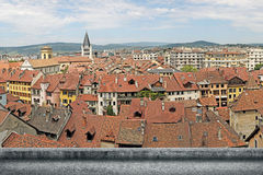 Annecy cityscape Stock Photography