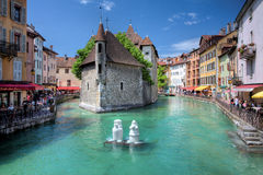 annecy france Royaltyfri Foto