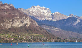 Annecy France. Beautiful landscape, Annecy France, lake Royalty Free Stock Image