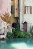 annecy france Detalj av den gamla staden fotografering för bildbyråer