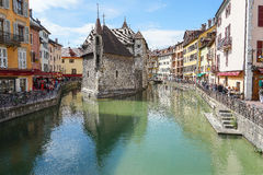 annecy france HDR Royaltyfria Foton