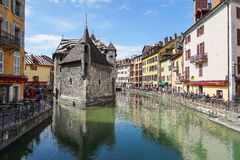 Annecy, France. HDR Royalty Free Stock Image