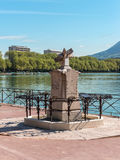 Gnomon in Annecy, France Royalty Free Stock Photography