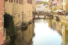 Annecy France. River France street water nature Stock Photography