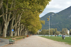 Annecy, France scenery Royalty Free Stock Images