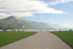 Annecy, France scenery Stock Photos
