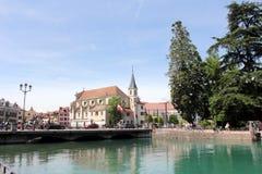 Annecy, Francia Fotografie Stock Libere da Diritti