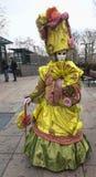 Persona disfrazada Foto de archivo