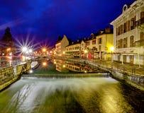 Annecy, Frankreich Stockfotografie