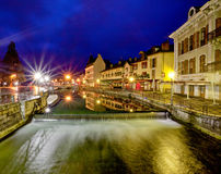 Annecy, Frankrijk stock fotografie