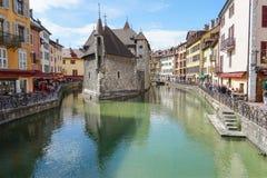 Annecy, Frankrijk HDR Royalty-vrije Stock Foto's