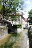 Annecy, Haute Savoie, França Fotos de Stock Royalty Free