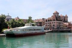 Annecy, Haute Savoie, Francia Immagini Stock Libere da Diritti