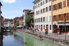 Annecy, Haute Savoie, Francja fotografia royalty free