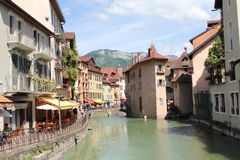 Annecy, Haute Savoie, Francja fotografia stock