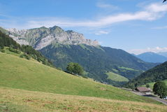 Annecy- La forclaz royalty-vrije stock foto