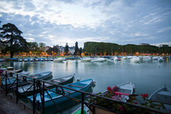 Annecy lake Royalty Free Stock Image
