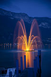 Annecy lake Stock Photos