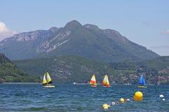 annecy lake Arkivbilder