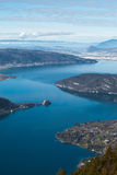 Annecy Lake Aerial V Royalty Free Stock Image