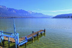 Annecy lake, France Stock Photography
