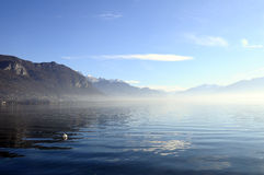 Annecy lake in France Stock Photos