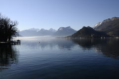 Annecy Lake From Talloires Royalty Free Stock Photography