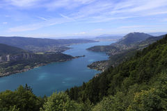 The Annecy lake, haute-savoie, France Stock Image