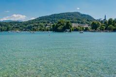 Annecy lake landscape, Savoy Royalty Free Stock Photos
