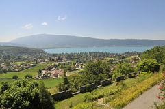 Annecy landscape Royalty Free Stock Photo